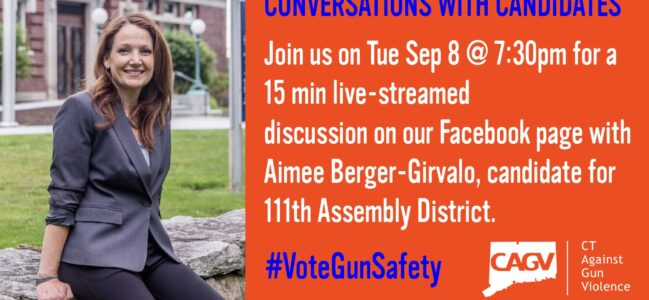 Video: Aimee Speaks to CT Against Gun Violence