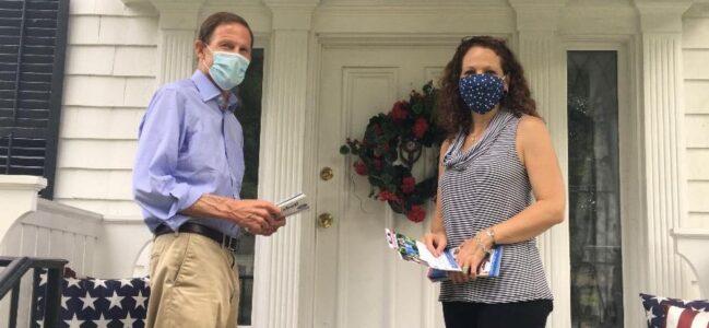 U.S. Senator Richard Blumenthal & Congressman Jim Himes Endorse Aimee Berger-Girvalo for State Representative